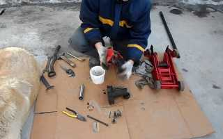 Поэтапный ремонт домкратов 5 т гидравлический