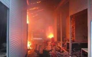 Определение класса конструктивной пожарной опасности здания