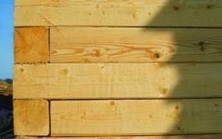 Как построить коробку дома из бруса