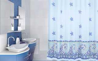 Как легко повесить штору в ванной