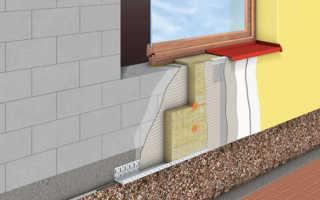 Мокрый фасад одновременно с возведением стен