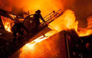 Правила эвакуации при пожаре