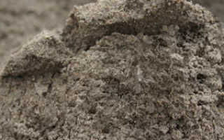Раствор песок плюс цемент