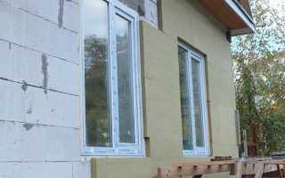 Утепления газобетонного дома технология и используемые материалы