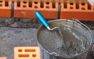 Как разбавлять цемент 400