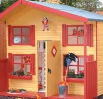 Домик для детей на даче своими