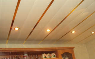 Как правильно сделать реечный потолок