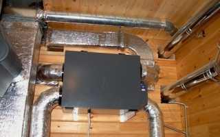 Воздушное отопление варианты исполнения Схемы приточной вентиляции