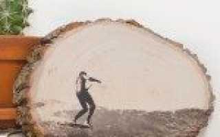 Перенос изображения на дерево особенности технологии