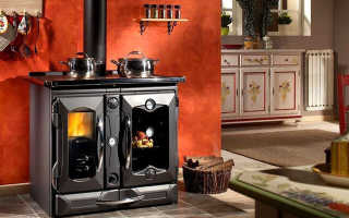 Современное печное отопление частного дома