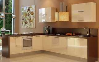 Дизайн стен для кухни