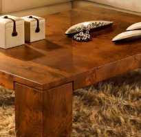 Как сделать красивый стол из дерева