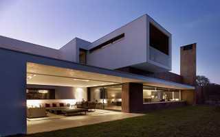 Проекты домов в стиле хайтек