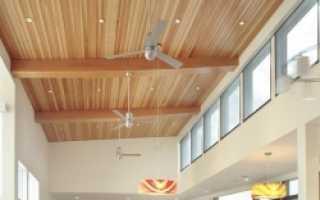 Как правильно сделать деревянный потолок своими руками