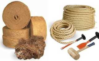 Самостоятельная конопатка сруба Как конопатить бревенчатый дом