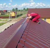 Как сделать конек на шиферную крышу