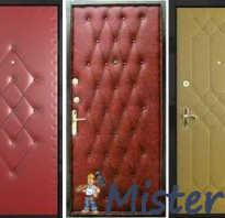 Обивка входных дверей самостоятельно