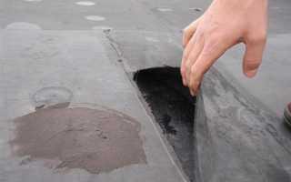 Как починить крышу на гараже