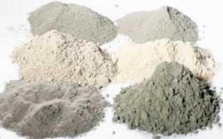 Цемент состав изготовление применение