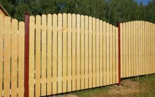 Как сделать деревянный заборчик своими руками