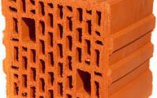 Поризованный блок или пустотелый кирпич