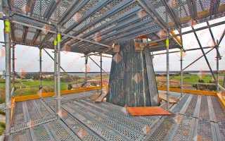 Проект производства работ ППР на строительные леса