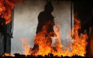 Критерии выбора решающего направления на пожаре