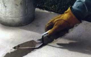 Трещины в бетоне после заливки как устранить