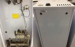 Боринские напольные газовые котлы подробный обзор аппарата