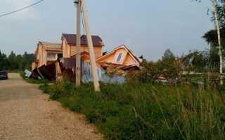 Вибрация каркасного дома от ветра как бороться