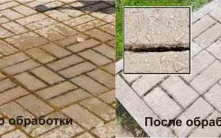 Чем отмыть асфальт от цемента