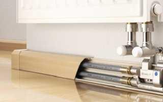 Как спрятать трубы отопления гипсокартоном