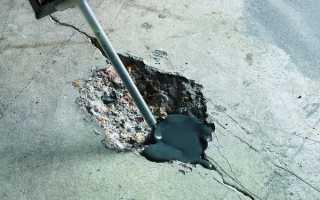 Чем заполнить трещины в недавно залитом бетоне