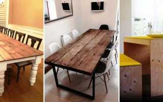 Как сделать самим круглый стол для кухни