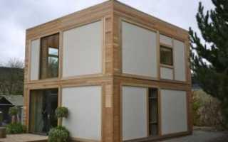 Строим дом из панелей