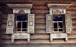 Окно в русской избе