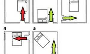 Как правильно поставить кровать в комнате проходной