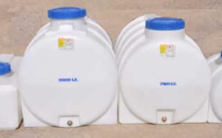 Как установить емкость для воды в квартире