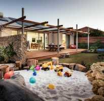 Как покрыть крышу песочницы в виде бабочки