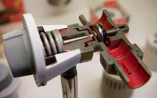 Терморегуляторы для радиаторов отопления данфосс