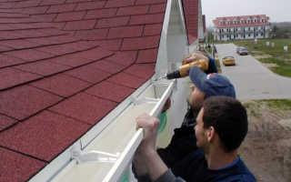 Монтаж отливов на крыше своими руками