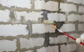 Как оштукатурить газобетонные блоки