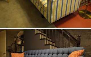 Обшивка старого дивана своими руками