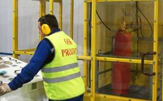 Периодичность обслуживания систем пожаротушения