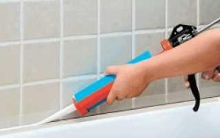 Как заделать углы в ванной комнате