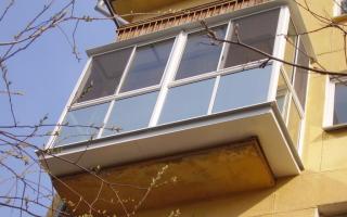 Расширение балкона пошаговая инструкция