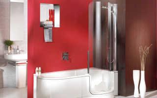Смотреть дизайн ванной комнаты с душевой кабиной