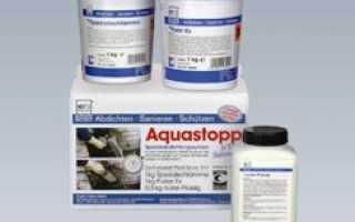Свойства и особенности использования грунтовки аквастоп