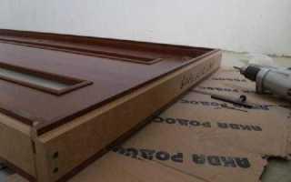Сборка дверной коробки своими руками