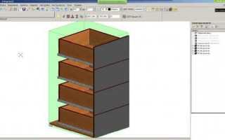 Как нарисовать шкаф на компьютере пошаговая инструкция